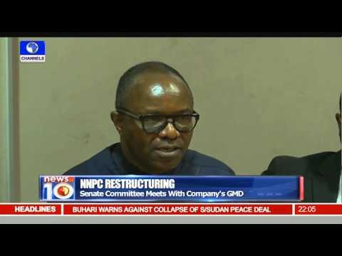 News@10: NNPC GMD Kachiukwu Apologies For Lack Of Consultation 10/03/16 Pt.1