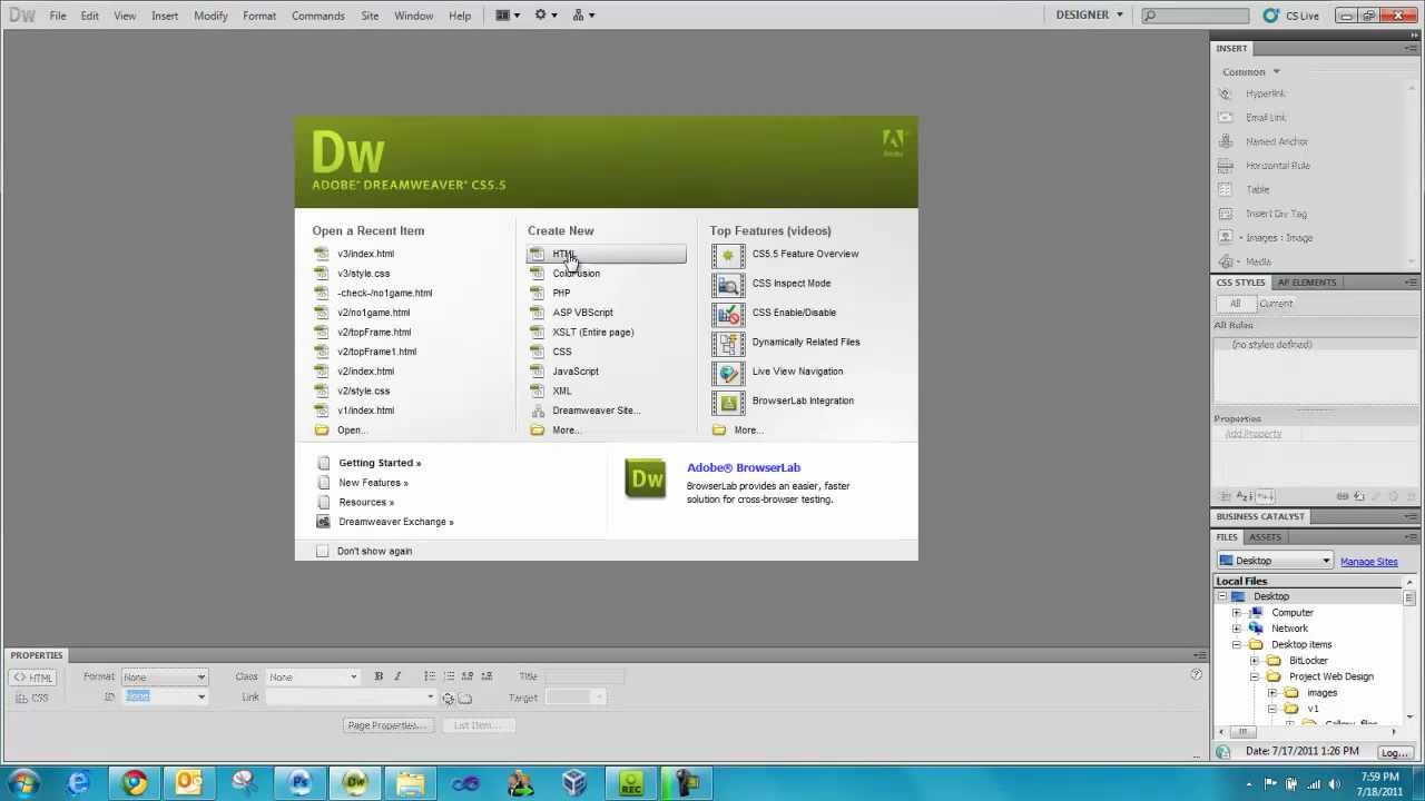 How To Create A Photo Gallery In Dreamweaver Cs5