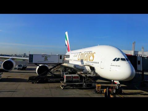 Emirates Dubai To Bangkok A380 Economy. | Doovi