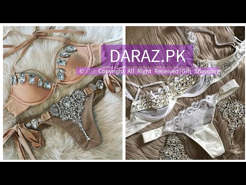 0e85eb25e484 Pakistani Sexy Bra Panty Sets 09 Online Price - YouTube