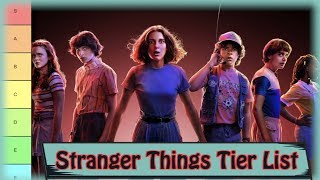 Stranger Things Character Tier List (Ranked)