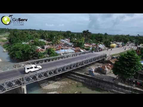 Drone over the City of Les Cayes