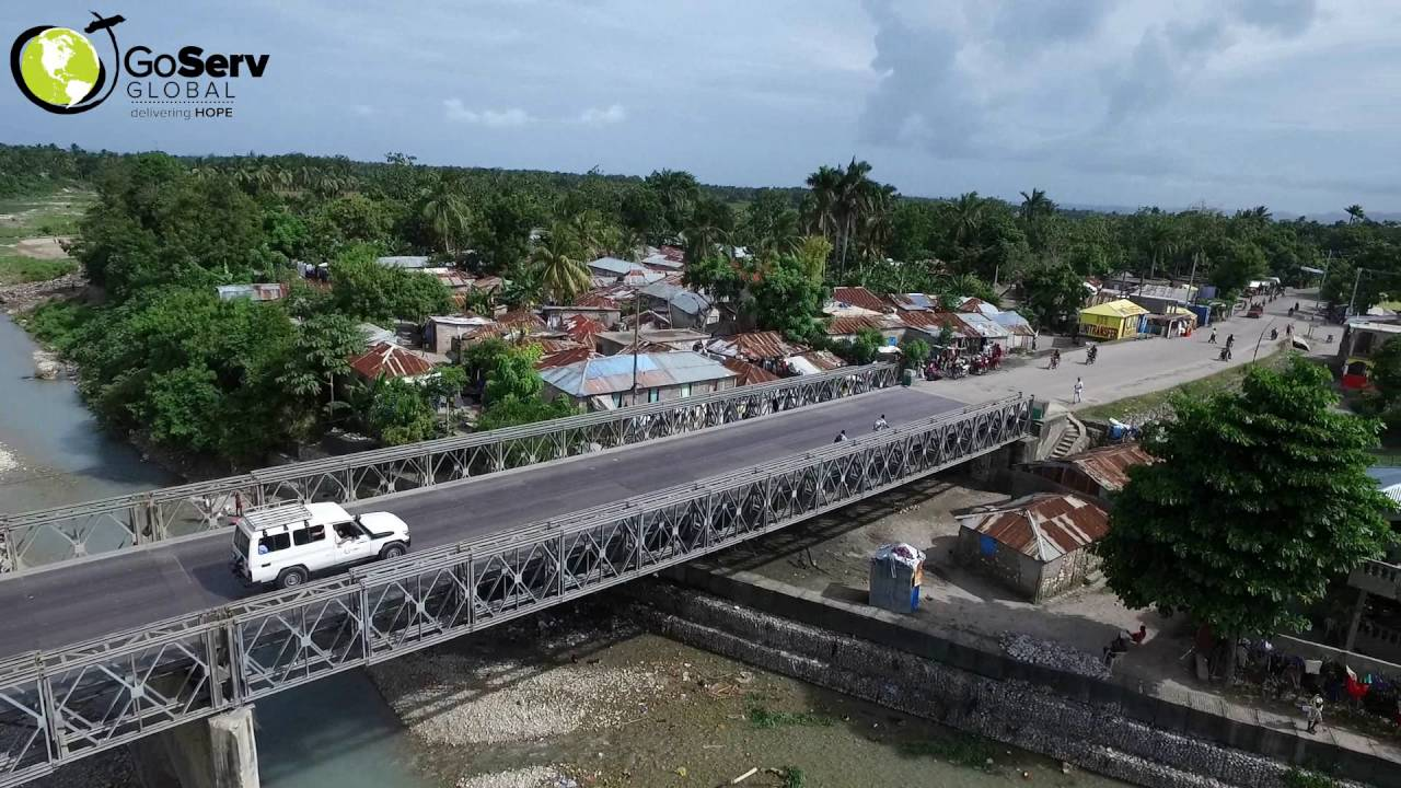Drone Over The City Of Les Cayes Youtube