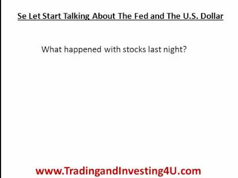 Federal Reserve Meeting Result and The Euro vs Dollar Exchange Rate - What is the Fed Doing?