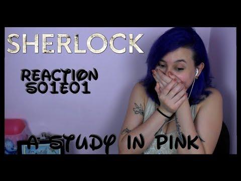Sherlock Reaction S01E01 A Study In Pink