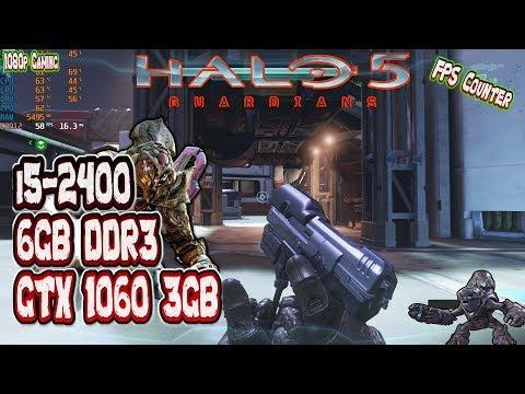 Halo 5 Guardians PC Edition  I5 2400 6GB DDR3 GTX 1060 3GB