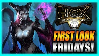 HeX: Shards of Fate - First Look Fridays! Steam PC Gameplay Impressions