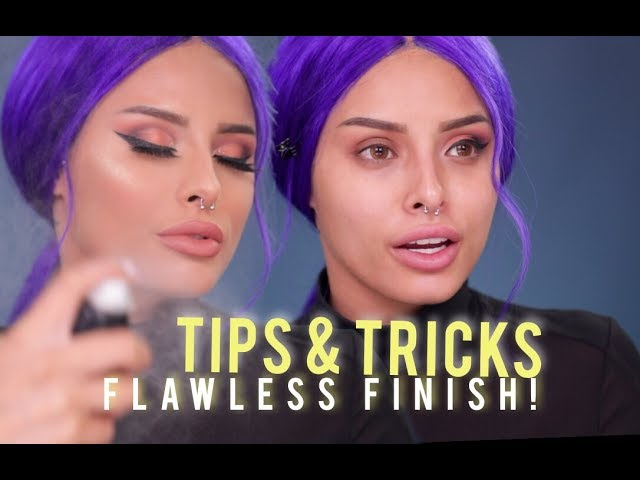 TIPS & TRICKS FOR A FLAWLESS FINISH | ISABEL BEDOYA