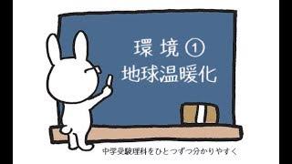 中学受験 理科 動画解説 環境問題① 地球温暖化