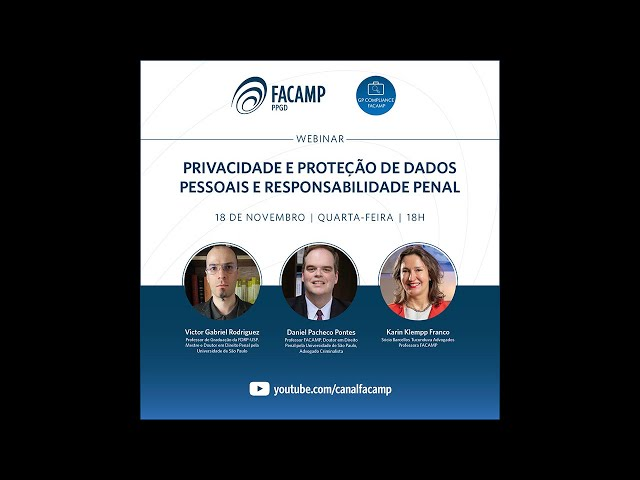 Privacidade e Proteção de dados pessoais e responsabilidade penal