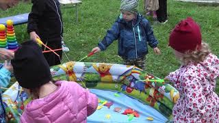 В День города для юных жителей Ревды устроили развлечения в Еланском парке