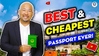 The Cheapest & Bęst Passport YOU Can Get