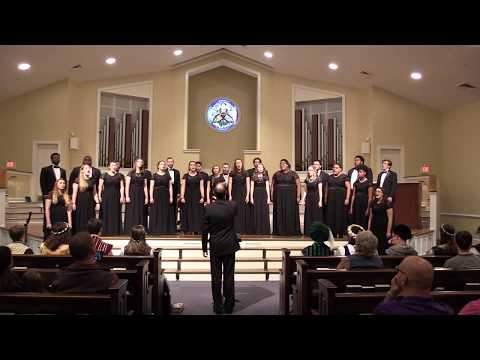 """""""Hallelujah"""" - Winthrop University Chamber Singers and Chorale 2017"""