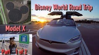 Model X is Magical (1 of 2): Disney World & 400 Miles of Range?!