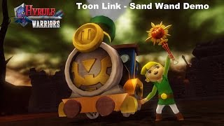 Hyrule Warriors - LV 255 Toon Link Sand Wand Gameplay Demo