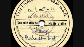 Kurt Drabek - Ursula Maury - Berlinchens Lied