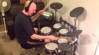 the verve bitter sweet symphony roland td 12 drum cover