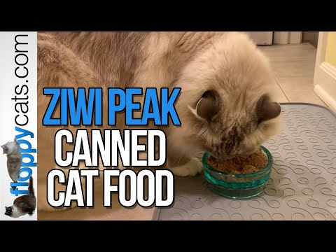Ziwi Peak Canned Cat Food - Mackerel & Lamb, Rabbit & Lamb And Mackerel