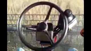 ez guide 500 ez steer auto steering case ih 2388 combine