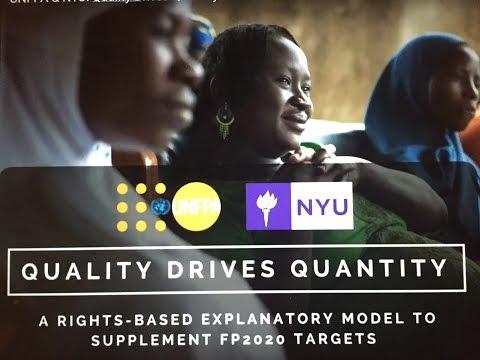 UNFPA & NYU: Quality Drives Quantity FP2020 Final Presentation