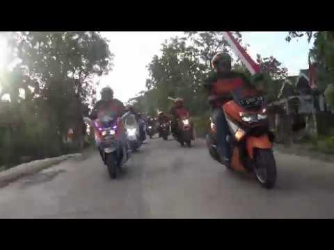 IMPI (Ikatan Motor Pos Indonesia) - Kirab Merah Putih Ke -4, Kayangan Api Bojonegoro