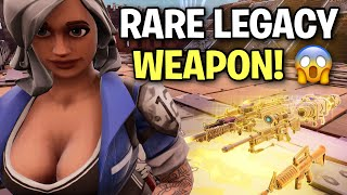 Scammer loses the RAREST Legacy Weapon Ever! 🤣 (Scammer Get Scammed) Fortnite Save The World