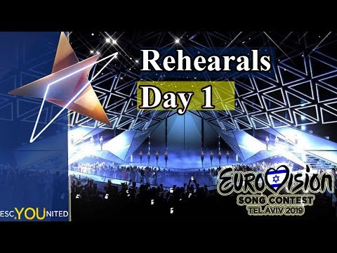 Eurovision 2019 Rehearsals - Day 1 Live Stream (From Press Center)