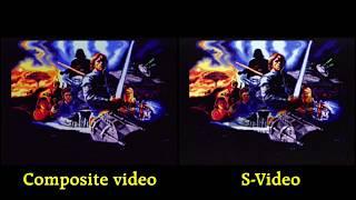 SNES Empire Strikes Back- S-video vs Composite video