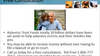 Mesothelioma Lawyer Bonnie Florida 1-866-777-2557 Asbestos Lung Cancer Lawsuit FL