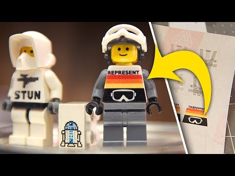 DIY LEGO DECALS | Laser Print on Release Paper, CUSTOM MINIFIGS