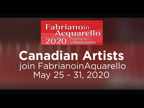 FabrianoinAquarello 2020 - Canadian Artists' artwork visit I