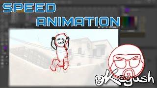 CS:GO-Cartoon. Geschwindigkeit Der Animation 1