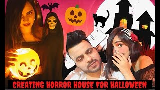 Creating HORROR HOUSE for HALLOWEEN (DO NOT WATCH it ALONE)