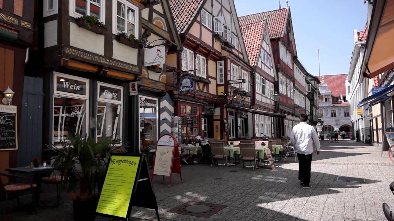 Celle Innenstadt  Franzsischer Garten Sony A77  YouTube