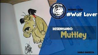 Desenhando Muttley -  Corrida Maluca // Drawing Muttley-  Wacky Races (Speed Drawing)