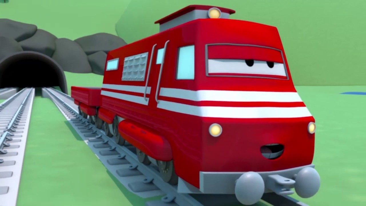 Tren Troy Araba Sehri Nin Tren Kasabasi Nda Hava Tren Cocuklar