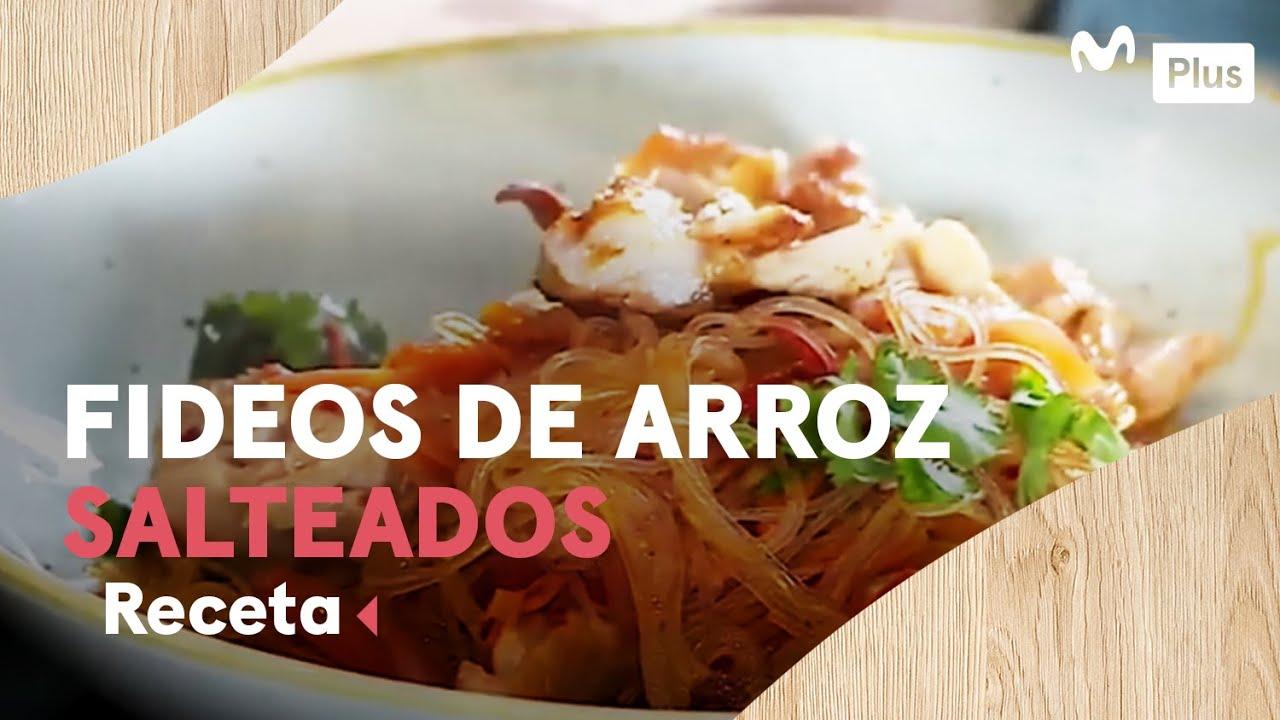 Fideos de arroz salteado | Cocina en un toque