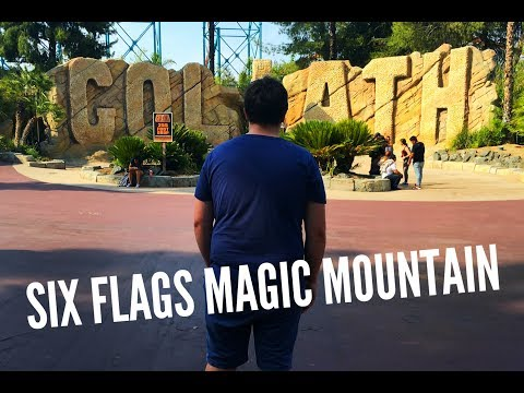 SIX FLAGS MAGIC MOUNTAIN LA