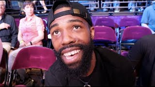 39 I 39 M A FREE AGENT HAVE COME TO MEET EDDIE HEARN 39 GARY RUSSELL JR REFLECTS ON KIKO MARTINEZ WIN