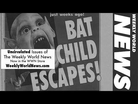 Weekly World News TV Show(1996) - Bat Boy Escapes!