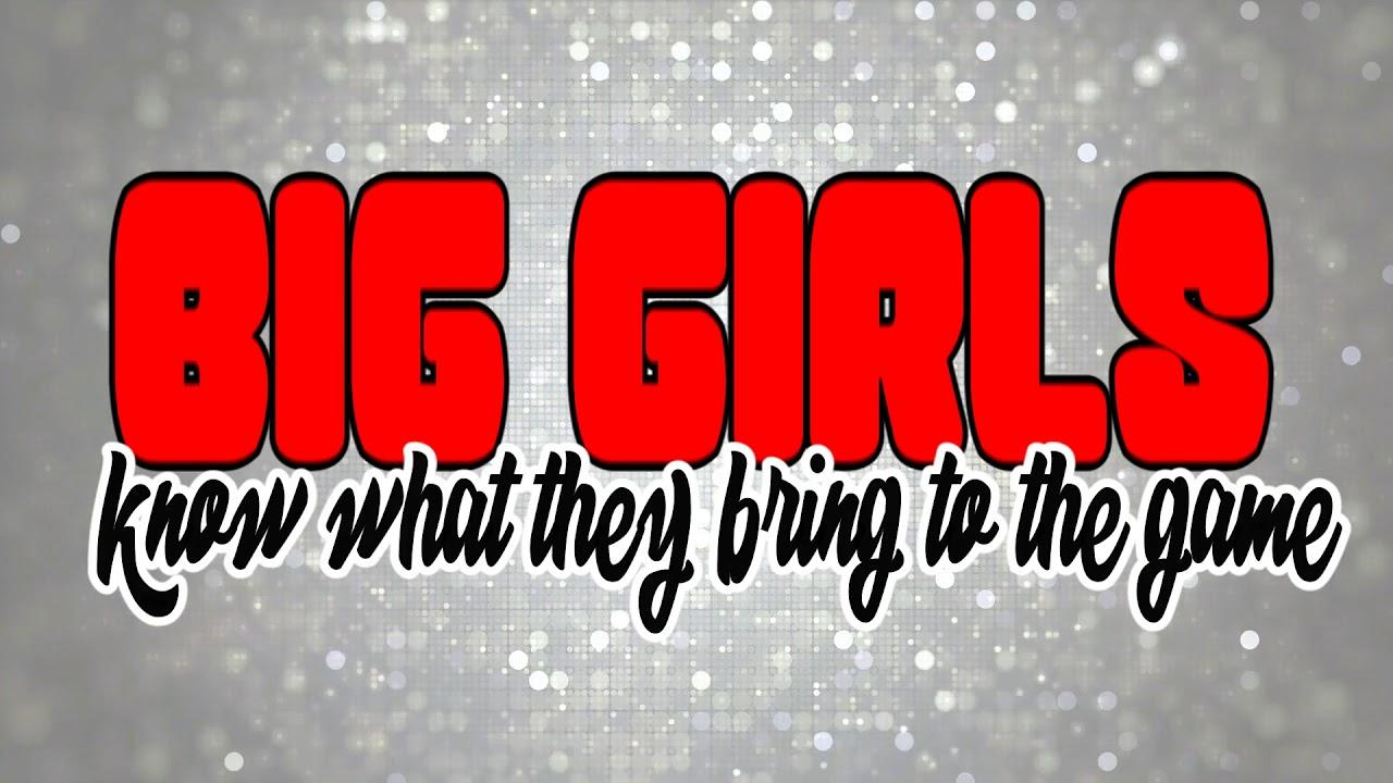 Salt-N-Pepa BIG GIRLS (Dee Wiz Mix) LYRIC VIDEO