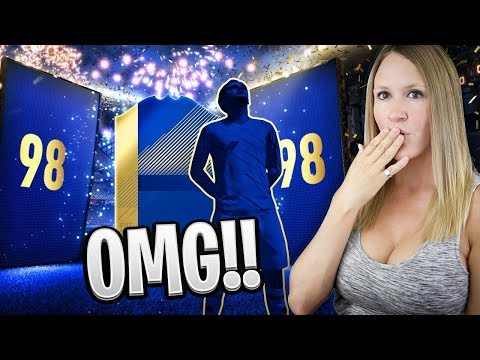 INSANE 98 TOTS IN A PACK!? 5 SPECIAL CARDS IN 1 PACK! FIFA 18