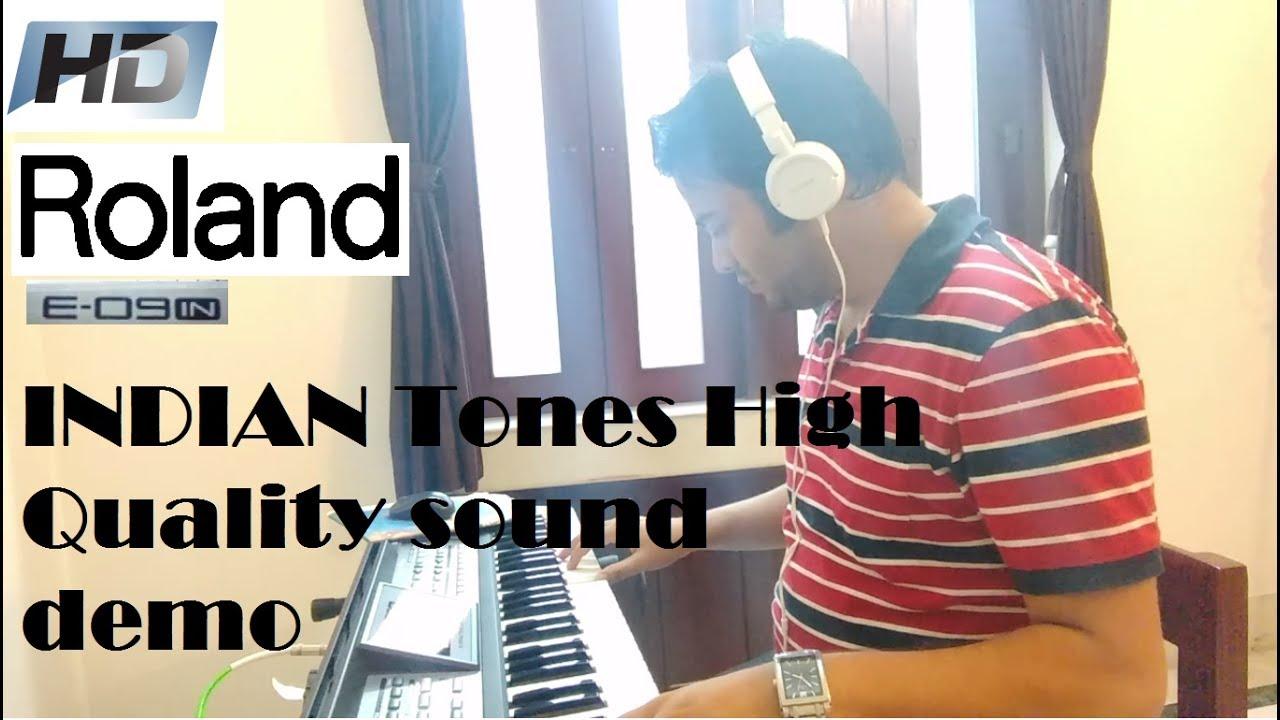Roland E09 Indian Arranger Keyboard | INDIAN tones High