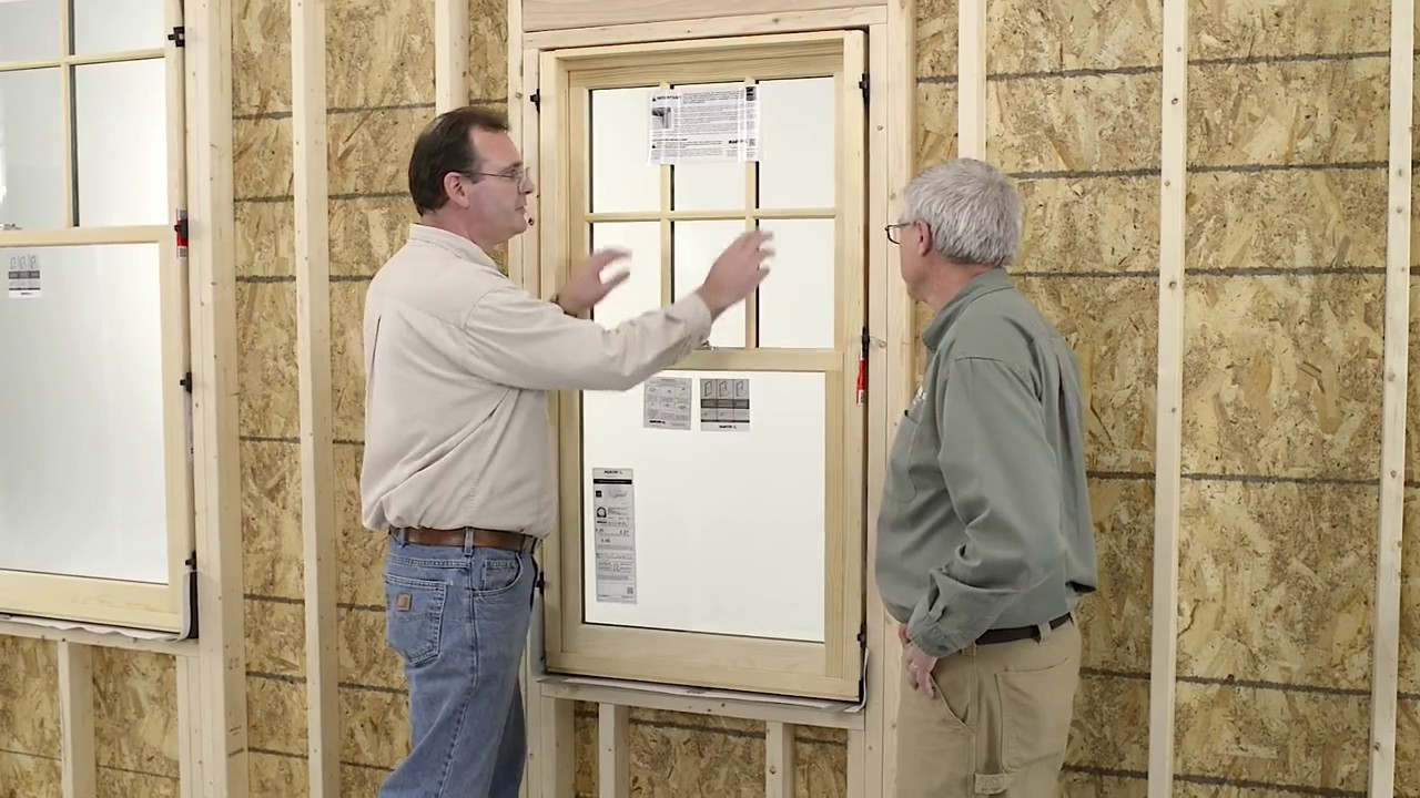 Installing The Marvin Next Generation Ultimate Double Hung You