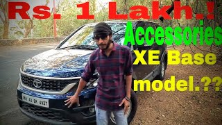 ACCESSORIES NEEDED For A Brand New Car | 2018 Tata HEXA XE Base MODEL