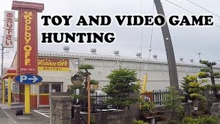 Hobby Off in Hamura, Japan | Toy and Video Game Hunting | Part 1