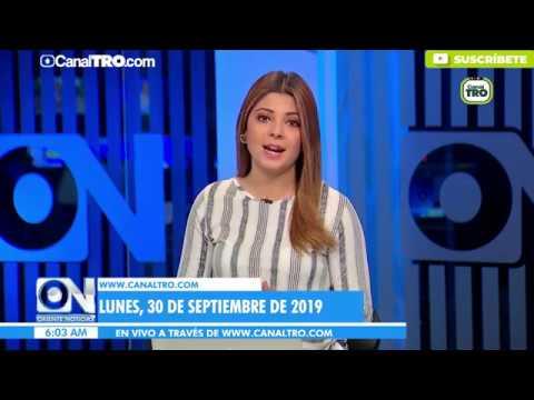 Oriente Noticias primera emisión 30 de septiembre