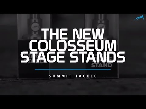 CARP FISHING THE NEW COLOSSEUM STAGE STANDS