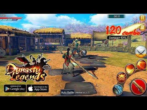 Dynasty Legends: True Hero Rises From Chaos - Open Beta Gameplay | Android/IOS