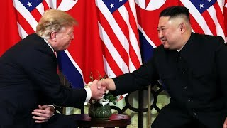Trump meets Kim Jong Un in 2nd historic summit, predicts success